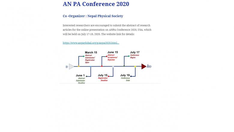ANPA Conference 2020